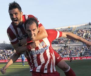 """El Atlético de Simeone no falló en Getafe y se apunta al """"final a final"""""""