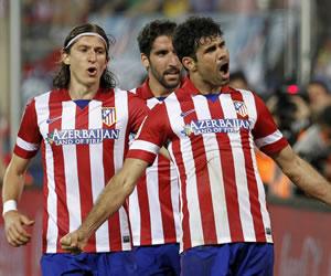 El Atlético de Simeone da otro paso hacia el título entre el sufrimiento