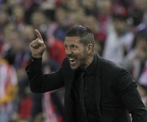 """Simeone: """"Veremos si el resultado es bueno la semana que viene"""""""