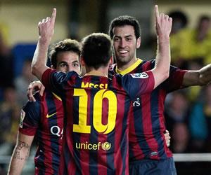 Messi llega a los 27 e iguala a Diego Costa en la tabla