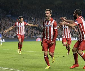 El Atlético de Simeone hace historia y jugará la final de Lisboa