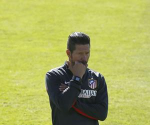 El Atleti de Simeone ante la primera de sus tres últimas finales por el título de Liga