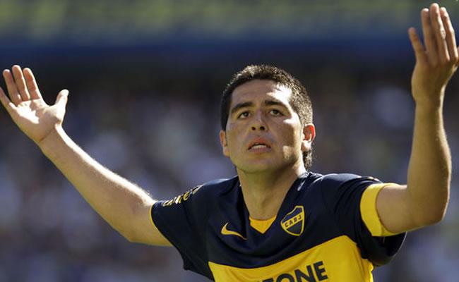 El jugador argentino Juan Román Riquelme. Foto: EFE