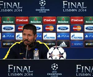 """Simeone: """"Este grupo transmite lo que siento por el fútbol"""""""