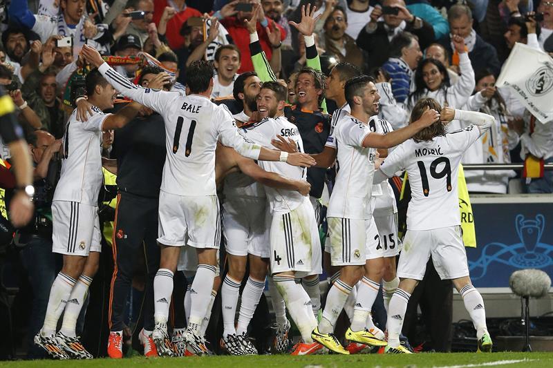 Real Madrid logra su décima Copa de Europa al vencer al Atlético
