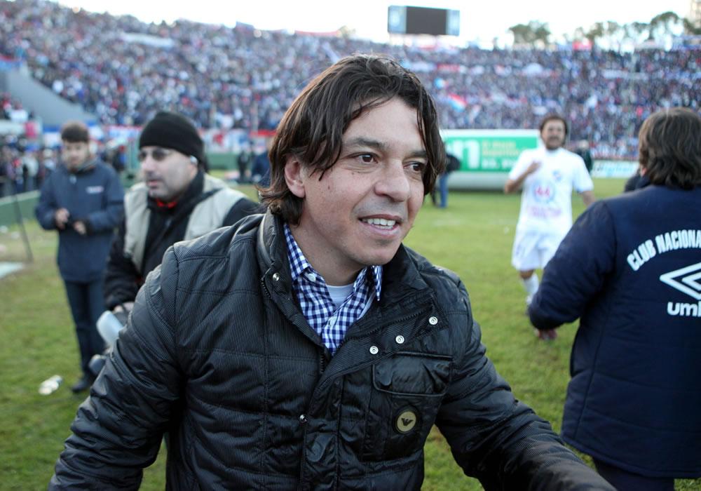 Marcelo Gallardo, nuevo entrenador de River Plate. EFE/Archivo