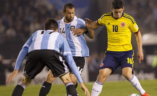 Argentina es quinta y Colombia octava en la clasificación mundial. Foto: EFE