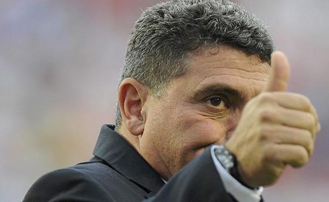 El entrenador de Honduras, el colombiano Luis Fernando Suárez. EFE