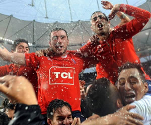 Independiente se impone a Huracán y logra el ascenso a Primera. Foto: Télam