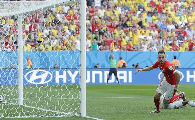 Suiza derrotó a Ecuador en el último minuto. Foto: EFE
