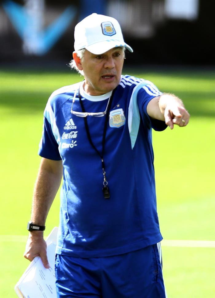 El entrenador de la selección argentina de fútbol, Alejandro Sabella. Foto: EFE