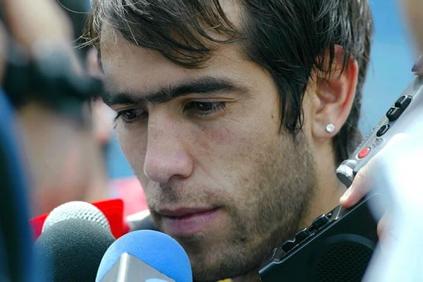 El argentino César Delgado del Monterrey mexicano. Foto: EFE