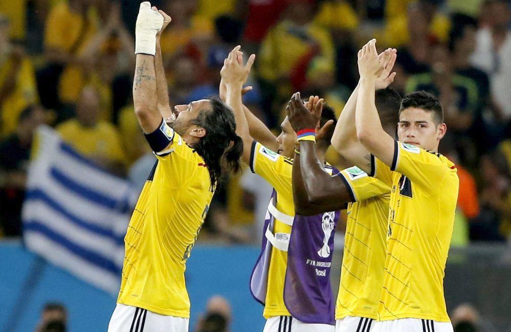 Ahora, Colombia buscará su paso a semifinales ante Brasil, e anfitrión. Foto: EFE