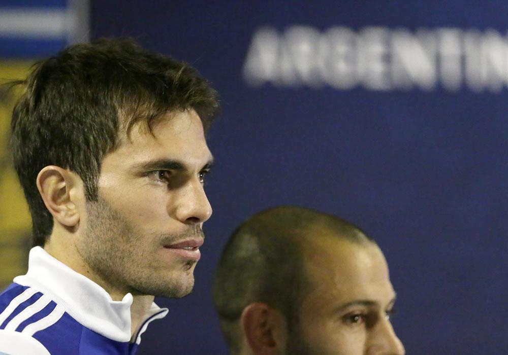 José María Basanta, defensa de la selección Argentina. Foto: EFE