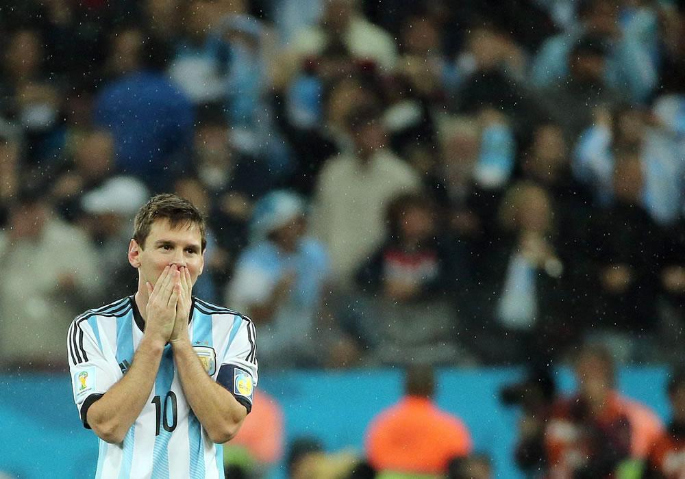 Messi, a 90 minutos de emular a Maradona como campeón del mundo. Foto: EFE