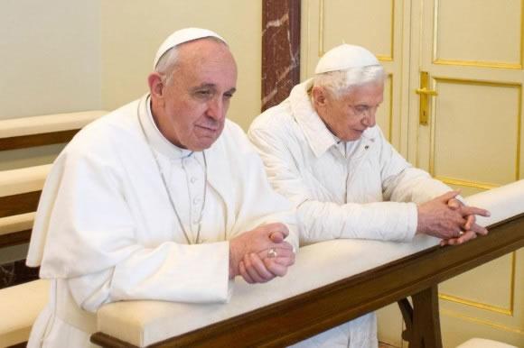 La final de los dos Papas, la que disputarán el domingo en el Maracaná Alemania y Argentina. Foto: EFE