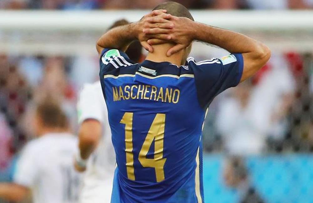 Javier Mascherano, centrocampista de Argentina. Foto: EFE