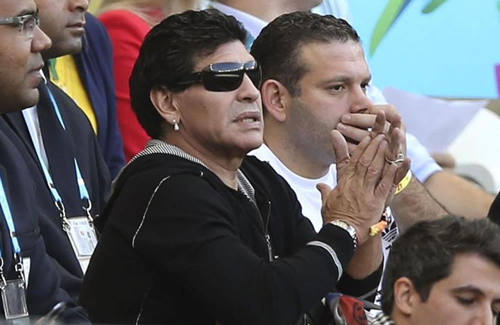 Maradona, de cara a la final: