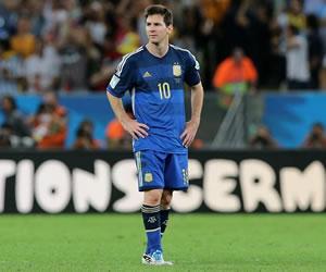 """Messi: """"En estos momentos no me interesa el premio de mejor jugador"""". EFE"""