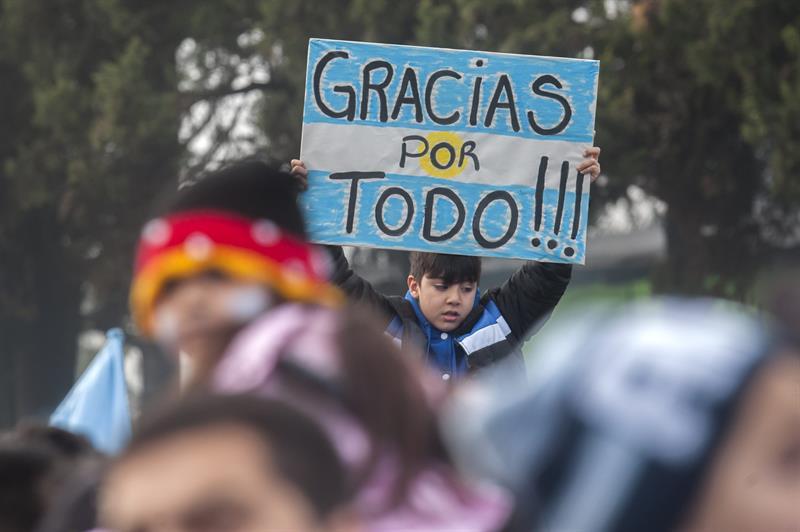 Argentina recibe