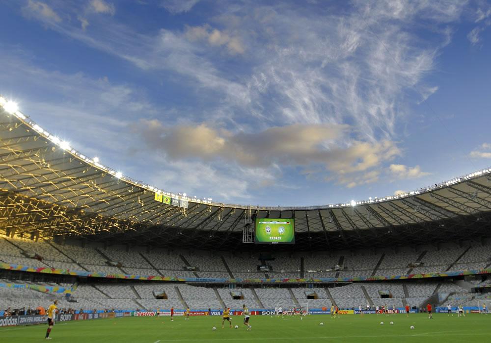 El estadio Mineirao tendrá la final de la Recopa Sudamericana para quitarse el estigma. EFE