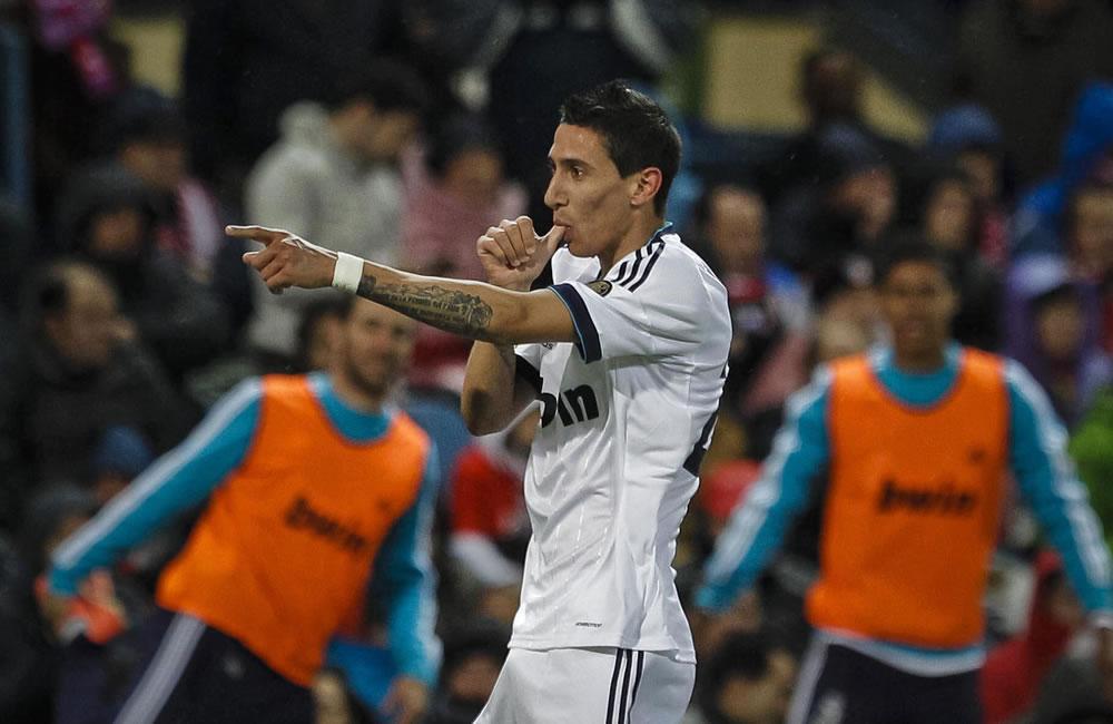 El jugador argentino Ángel Di María. Foto: EFE