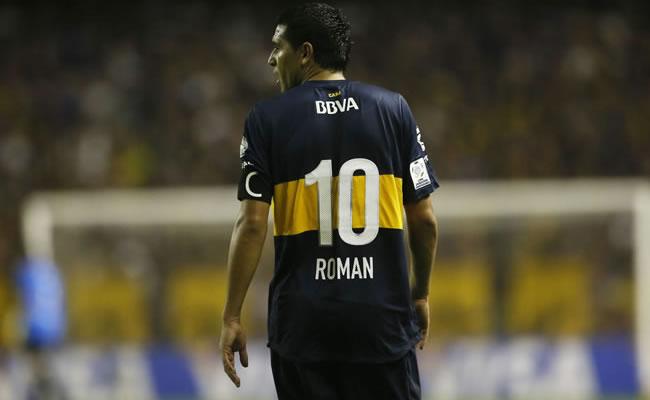 El futbolista argentino Juan Román Riquelme. Foto: EFE