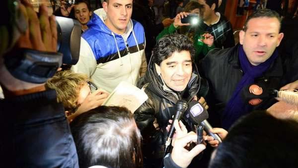 Maradona pide a Menotti y dice que Messi jugó mejor con él que con Sabella. Foto Twitter