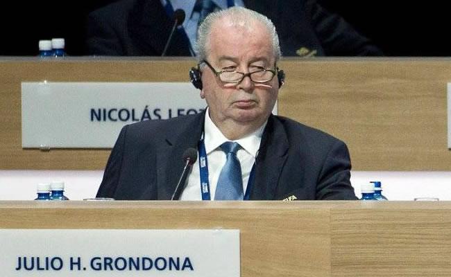 Julio Grondona, presidente de la AFA. Foto: EFE
