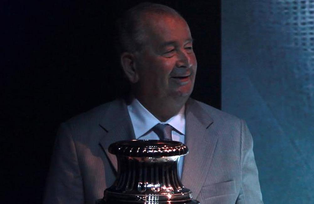 Fotografía de archivo que muestra al presidente de la Asociación del Fútbol Argentino. Foto: EFE