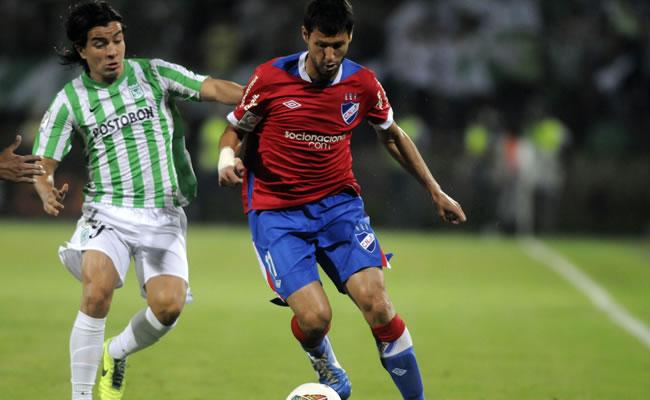 Atlético Nacional arranca el desafío sudamericano ante el debutante La Guaira. Foto: EFE