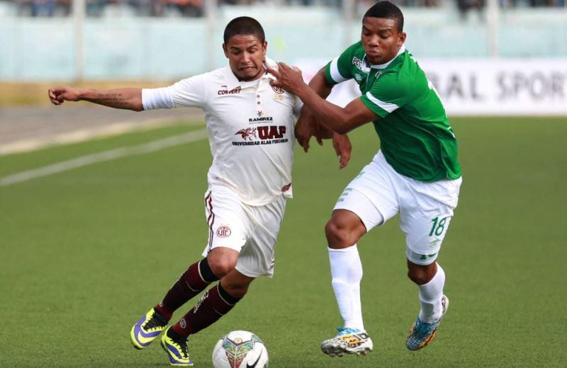 UT Cajamar y Cali empataron 0-0 en Perú en el inicio de la Sudamericana. Foto; EFE.