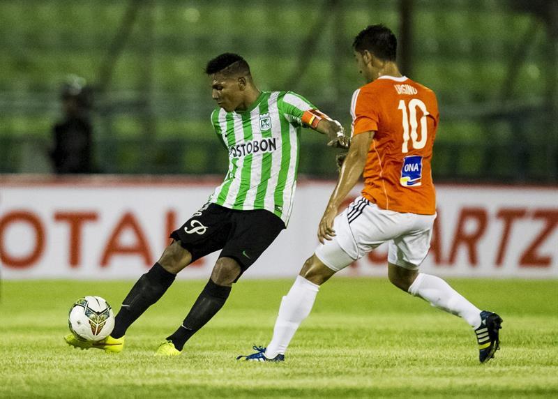 Galería del empate entre Nacional y La Guaira