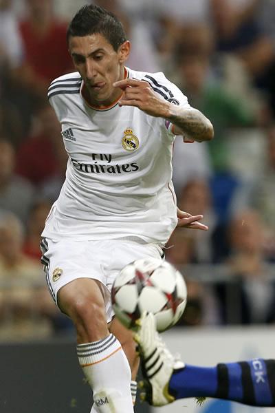 El argentino Ángel Di María, la mejor venta de la historia del Real Madrid. Foto: EFE/Archivo