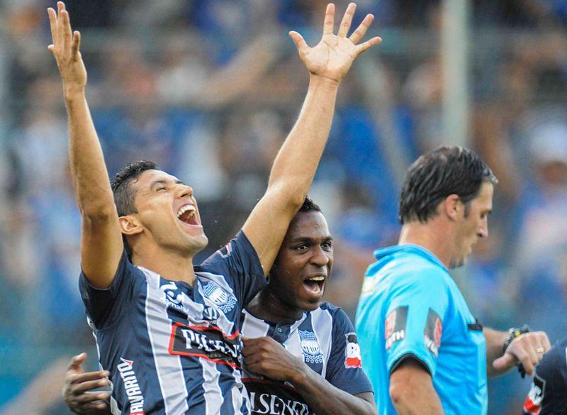 Águilas Doradas perdió 2-1 y quedó afuera de la Copa Sudamericana. Foto: EFE