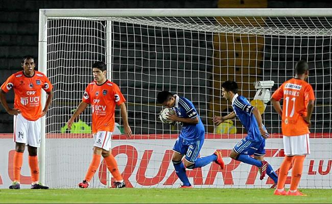 Vallejo busca ante Millonarios clasificación histórica tras ganar en Colombia. Foto: EFE