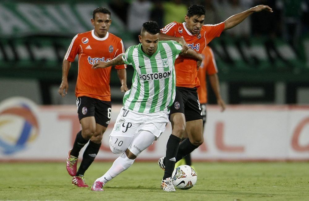 Atlético Nacional es el primer equipo colombiano en avanzar. Foto: EFE