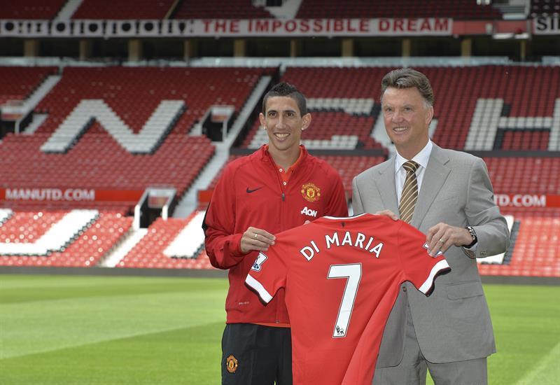 Di María lucirá en el United el 7 de Cristiano, Beckham y Best