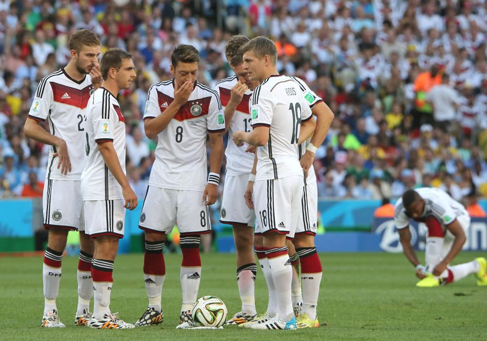 Löw convoca a 18 campeones del mundo para el amistoso contra Argentina. Foto: EFE/Archivo