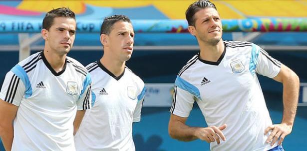 Gerardo Martino completó su lista con Gago y Rodríguez para el amistoso ante Alemania. Foto: EFE/Archivo