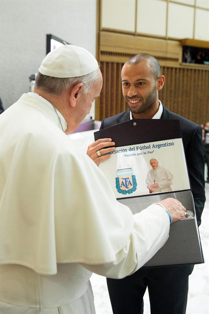 Fotografía facilitada por el diario vaticano