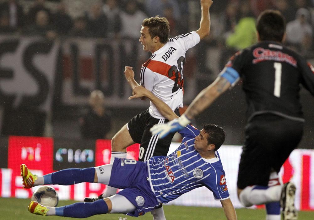 River Plate traslada su gran momento a Mendoza para enfrentar a Godoy Cruz. Foto: EFE