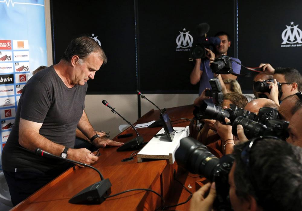 """Marcelo Bielsa carga contra el Marsella: """"No han respetado mis decisiones"""". Foto: EFE"""