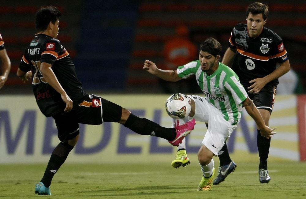 Nacional ahora deberá superar la ventaja de dos goles como visitante. Foto: EFE