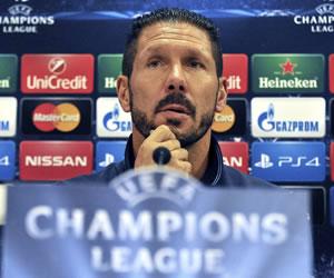 """Simeone: """"El estilo no se negocia, creo que es un punto fuerte del equipo"""""""