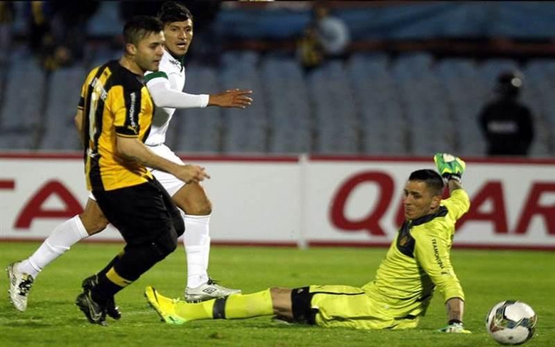 Cali empató 2-2 con Peñarol en el estadio Centenario de la capital uruguaya. Foto: EFE
