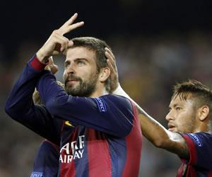 El Barça saca el partido por la mínima ante un Apoel resultón
