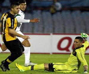 Peñarol viajó a Cali para tratar de imponerse en una eliminatoria complicada