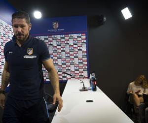 "Simeone: ""Un triunfo en un campo donde nunca gamos"""
