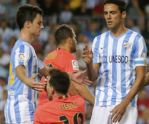 Messi es agredido por el brasileño Werlitong